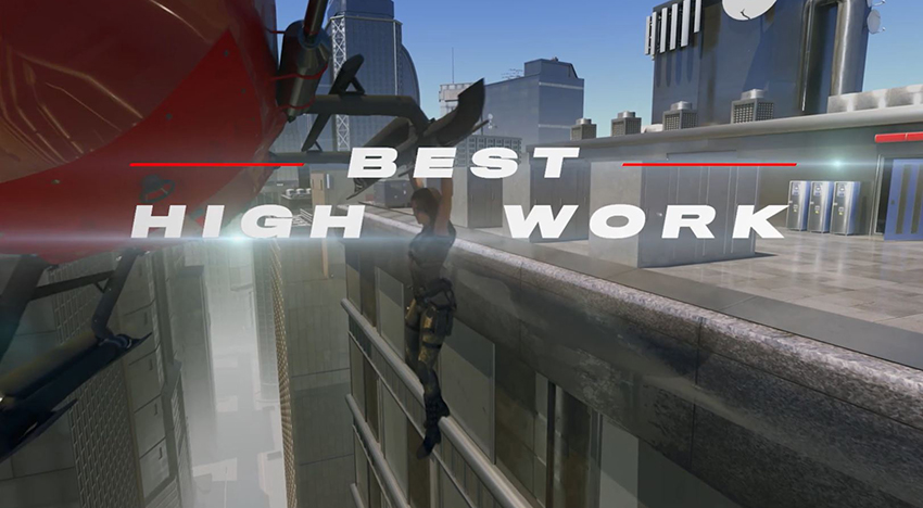 Best High Work animated clip from 2020 Taurus World Stunt Awards video