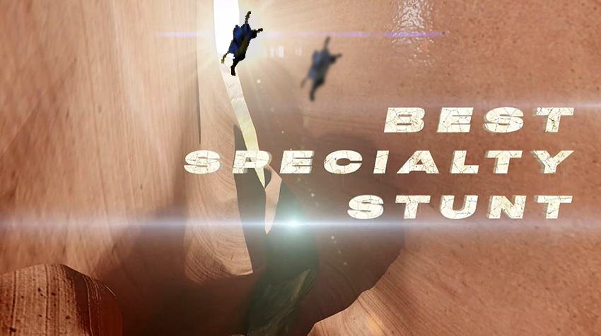 Best Speciality Stunt animated clip from 2020 Taurus World Stunt Awards video
