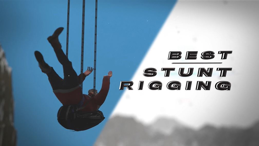 Best Stunt Rigging animated clip from 2020 Taurus World Stunt Awards video