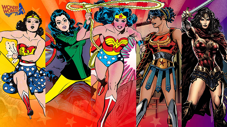 Wonder Woman comic book versions