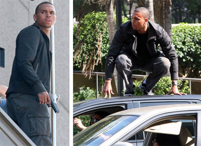 Chris Brown in The Takers