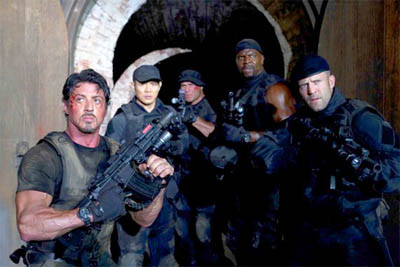 cast of The Expendables