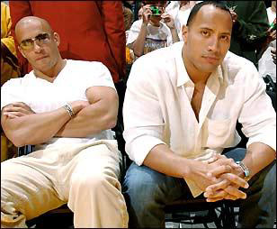 Vin Diesel and Dwayne The Rock Johnson