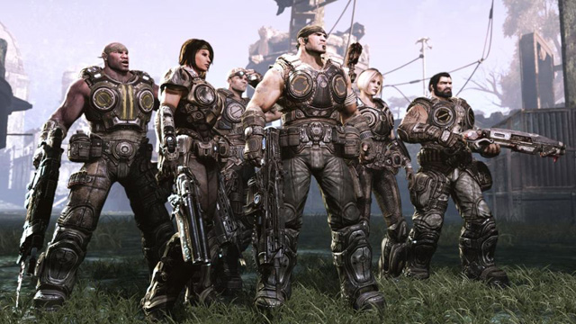 Gears 3 characters