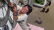 The incomparable Jackie Chan's clocktower stunt in Project A