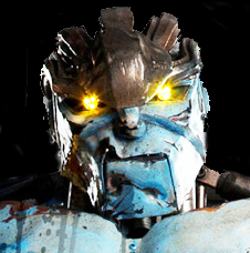 Ambush the robot from Real Steel snarl