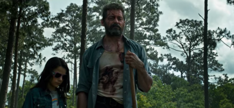 Logan and Laura bury Charles in LOGAN