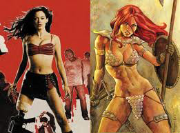 versions of Red Sonja