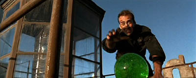 Nicolas Cage chases a rolling ball of VX in The Rock