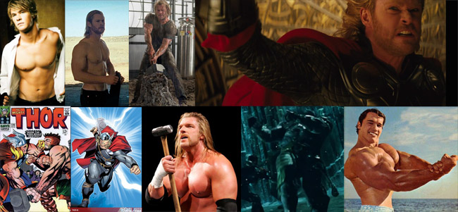 images of various Thors