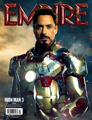 Empire magazine cover with Iron Man 3