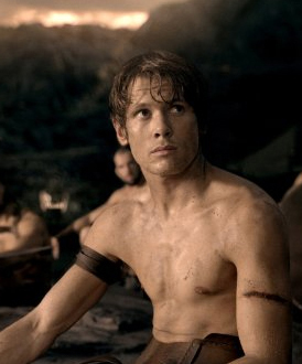 Jack O'Connell in 300: Rise of an Empire