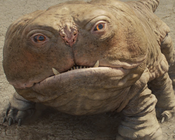 Woola the dog from John Carter of Mars