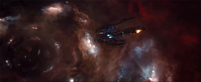 spaceship from Jupiter Ascending
