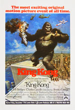 King Kong 1976 Movie Poster