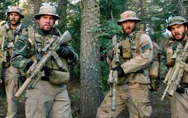 Lone Survivor movie-the moment they let the goat herders go