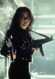 Michelle Yeoh in Tomorrow Never Dies
