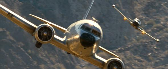 Quantum of Solace dogfight