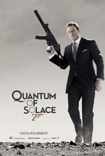 Quantum of Solace movei poster