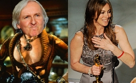 Kathryn Bigelow wins the Best Director Oscar when he ex-husband James Cameron was also nominated