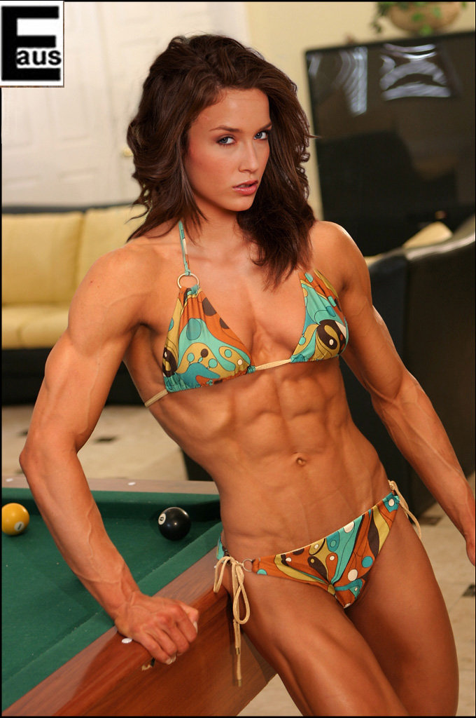 skinny but ripped woman