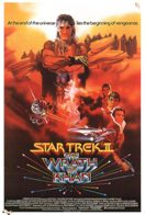 Star Trek II The Wrath of Khan movie poster
