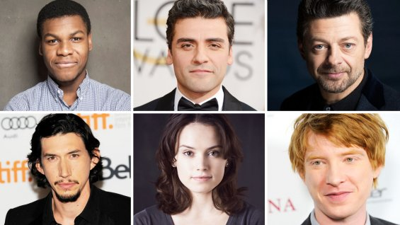 Star Wars Episode VIII cast