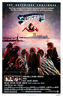 Superman II 1980 movie poster