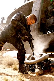 Terminator Salvation with Christian Bale aka Mumbles
