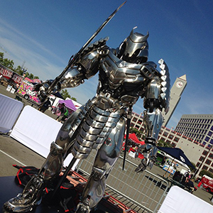 The Wolverine Silver Samurai at ComicCon