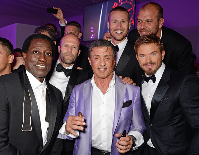 The Expendables 3 cast at Cannes