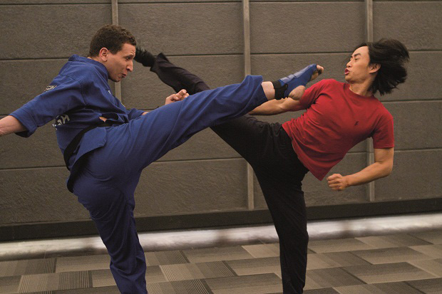 Tiger Chen kicks ass in Man of Tai Chi