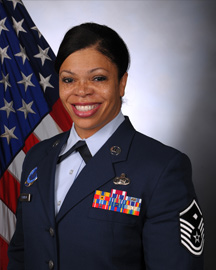 Air Force Master Sergeant Tina Robinson