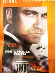 White House Taken movie poster